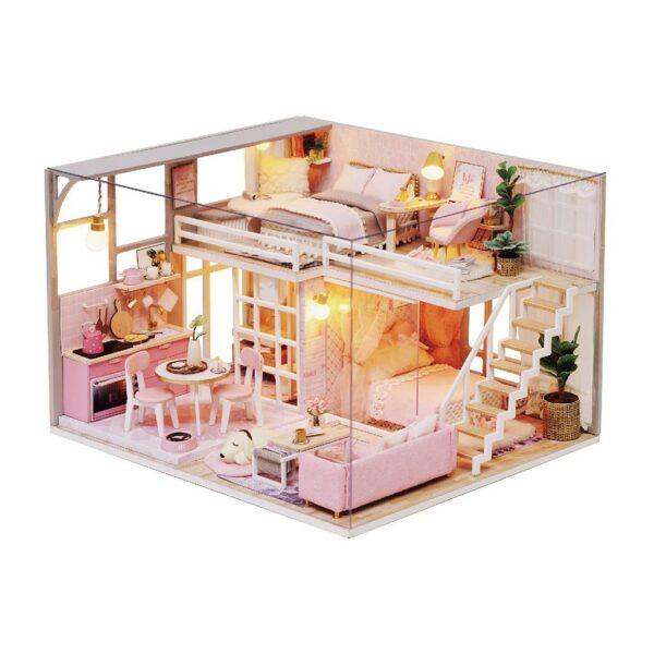 The Girlish Dream DIY Miniature Dollhouse Kit12ec1792927343bc90f0966bbad958edn