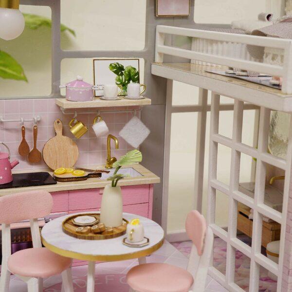 The Girlish Dream DIY Miniature Dollhouse Kit16975208f08346698570ba2f17977972y