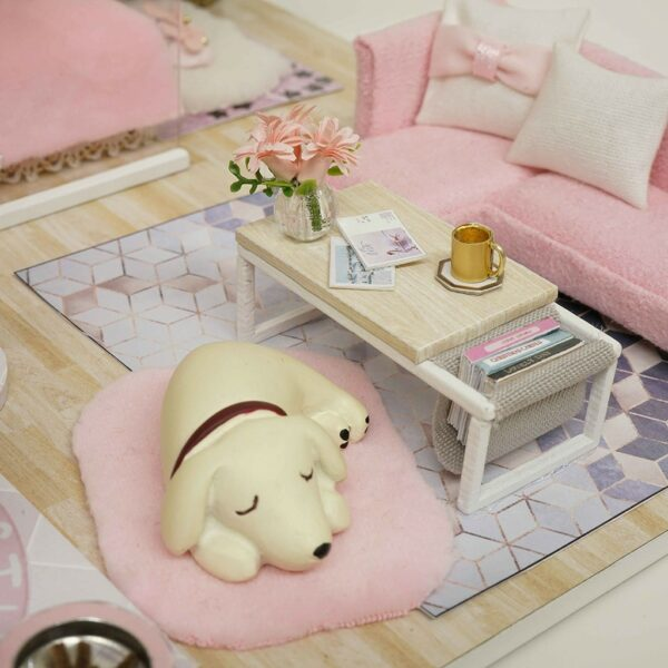 The Girlish Dream DIY Miniature Dollhouse Kit186474ecac9d4b6f853d3456bab3b3d2R