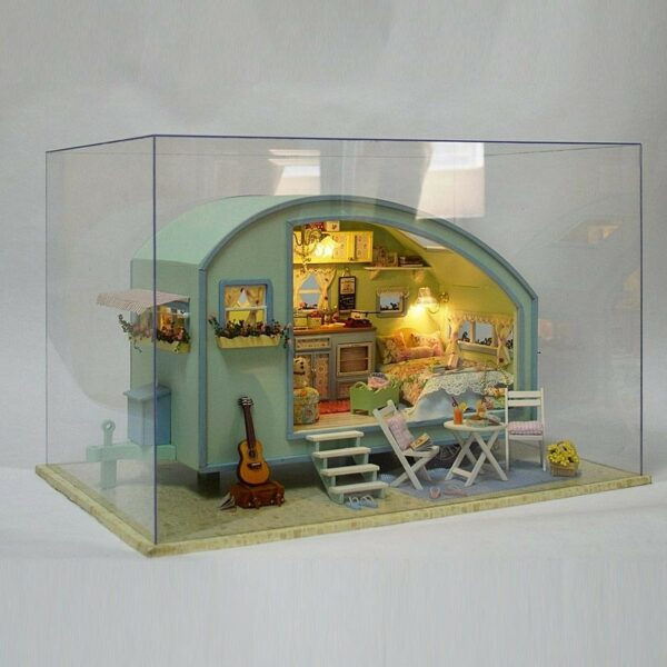 Time Travel DIY Miniature CaravanTB1nQIwN9zqK1RjSZPxq6A4tVXaTime Travel DIY Miniature Caravan