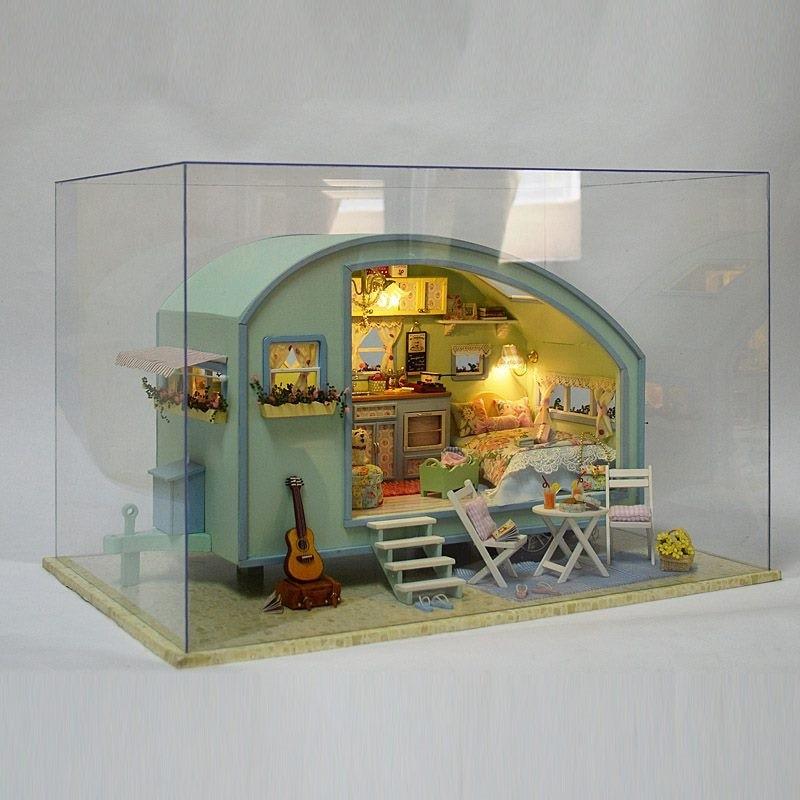 Time Travel DIY Miniature CaravanTB1nQIwN9zqK1RjSZPxq6A4tVXaTime Travel DIY Miniature Caravan