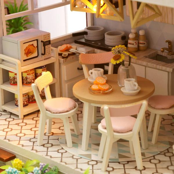 abda1513ac794f850165ee61b3402e9fLove You All The Way DIY Miniature Dollhouse Kit