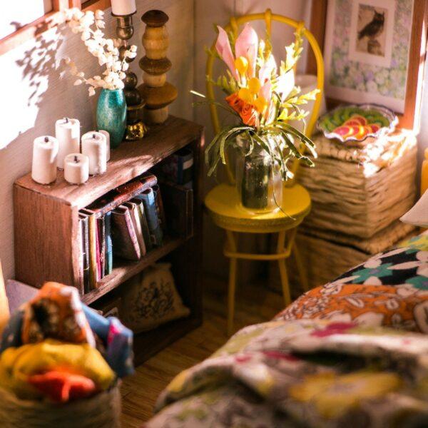 alice s dreamy bedroom robotime diy miniature dollhouse kit 4