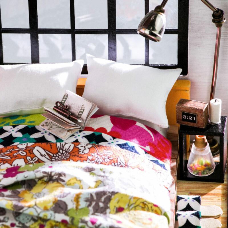 alice s dreamy bedroom robotime diy miniature dollhouse kit 5