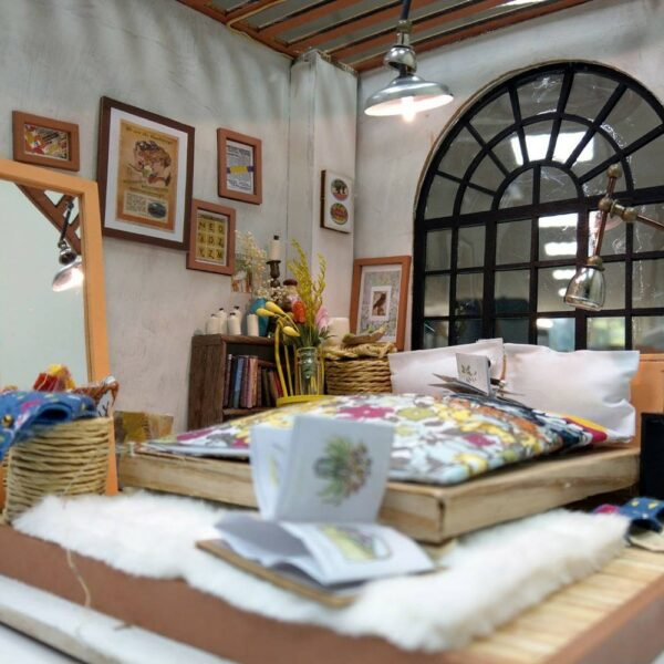 alice s dreamy bedroom robotime diy miniature dollhouse kit