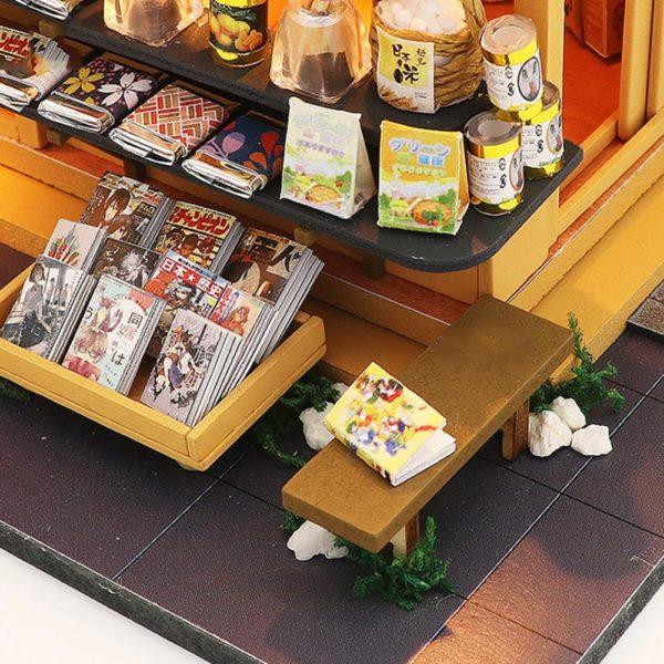 bc5a0a079a4fbed46cbb0b77ea777673 600x600Japanese Grocery Store DIY Dollhouse