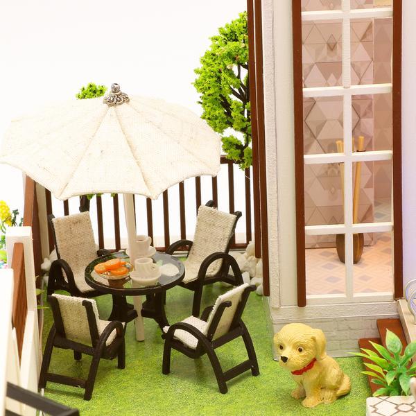 bde542d4e3a27edafc51fd525491d2f8Love You All The Way DIY Miniature Dollhouse Kit