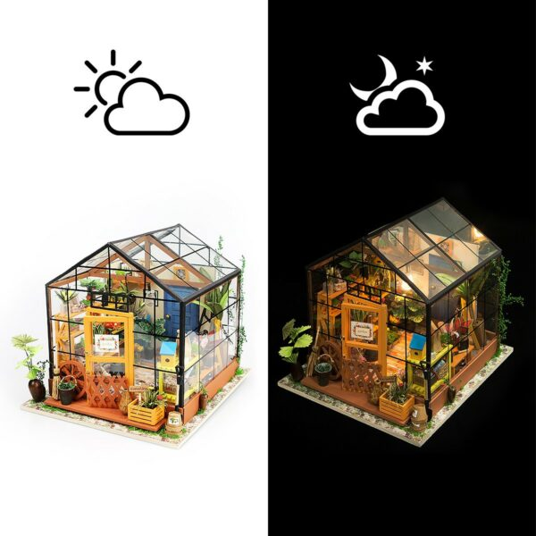 cathy s flower house robotime diy house kit 4