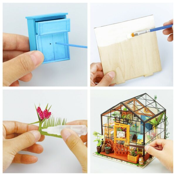 cathy s flower house robotime diy house kit 5