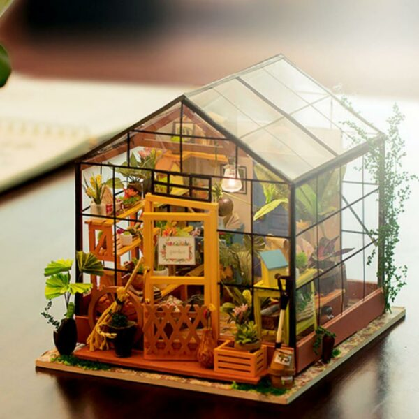 cathy s flower house robotime diy house kit