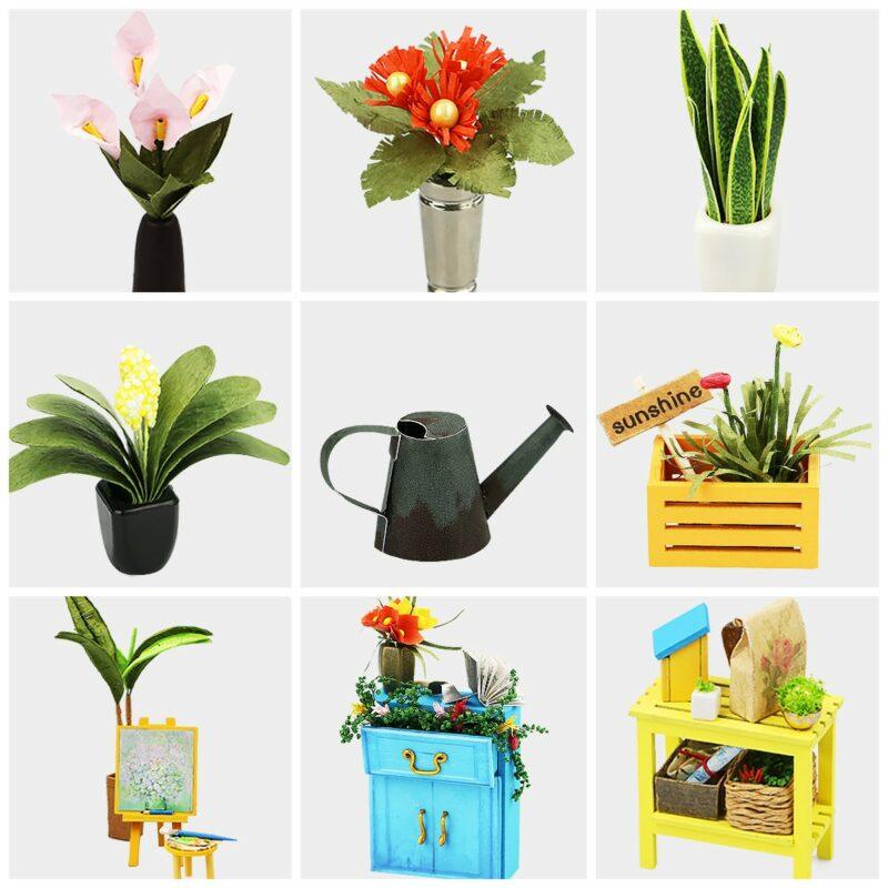 cathy s flower house robotime diy house kit 7