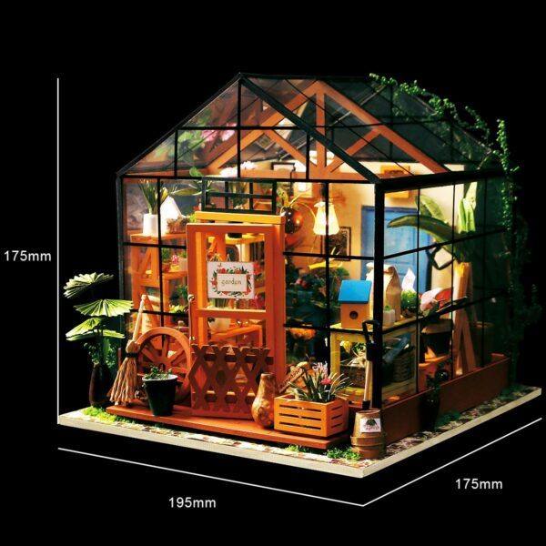 cathy s flower house robotime diy house kit 8 1