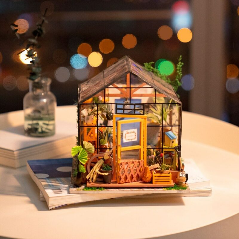 cathy s flower house robotime diy house kit