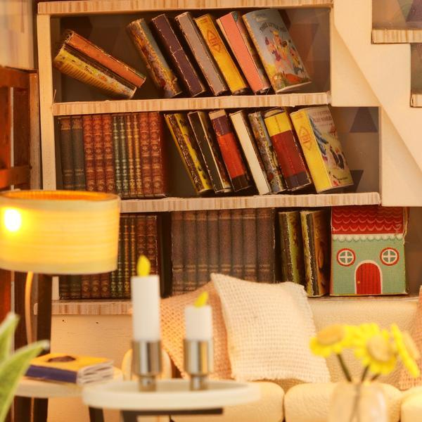 cf05af055a5f0e2245d5b97329e6af85Love You All The Way DIY Miniature Dollhouse Kit