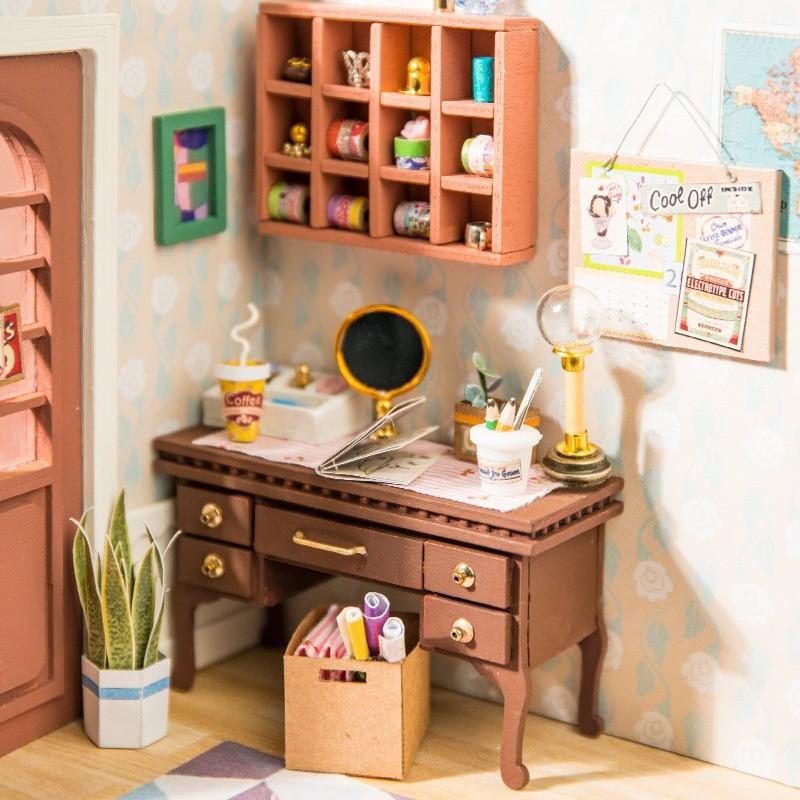 charlie s dining room robotime diy miniature dollhouse kit copy 4