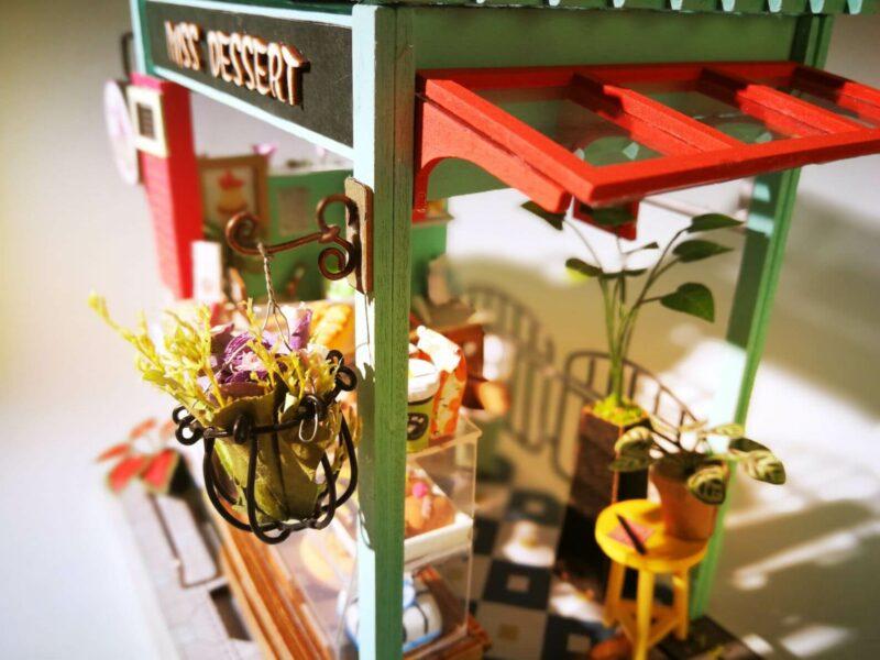dessert shop robotime diy miniature dollhouse kit