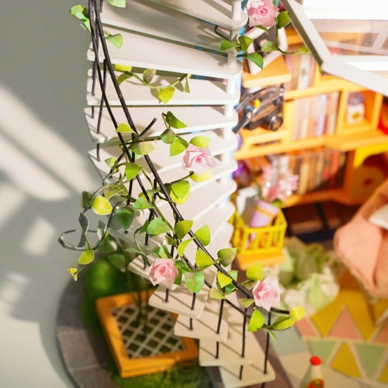dora s loft robotime diy miniature dollhouse kit 5