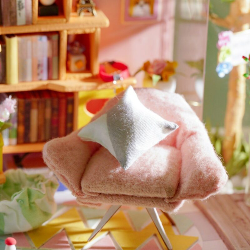 dora s loft robotime diy miniature dollhouse kit 7