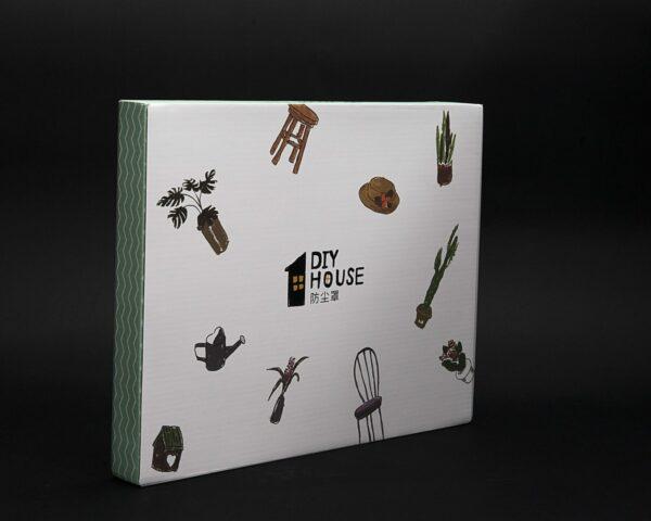 dust cover for robotime diy dollhouse kit dg101 109 dg13 new version 2