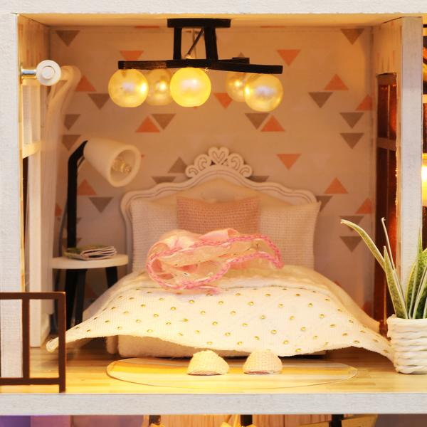 e55b291665b762396da52573dccbec78Love You All The Way DIY Miniature Dollhouse Kit