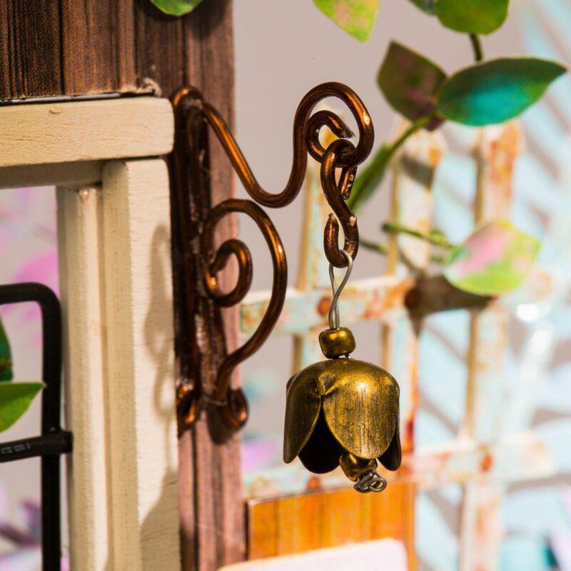 garden entrance robotime diy miniature dollhouse kit 3