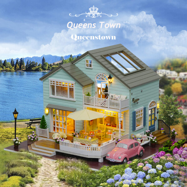 imageQueens Town DIY Miniature House