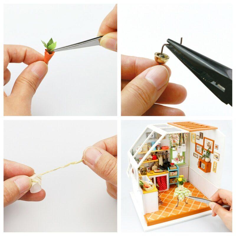 jason s kitchen robotime diy miniature dollhouse kit 6