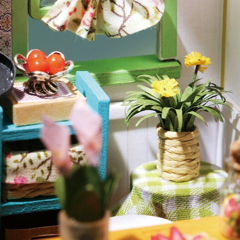 jason s kitchen robotime diy miniature dollhouse kit 9