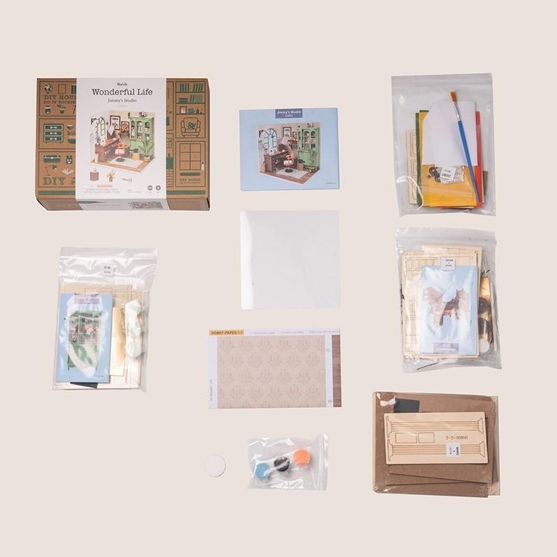 jimmy s studio robotime diy miniature dollhouse kit copy 3