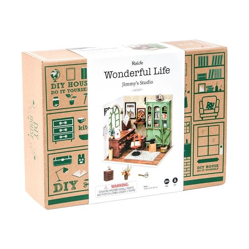 jimmy s studio robotime diy miniature dollhouse kit copy 4