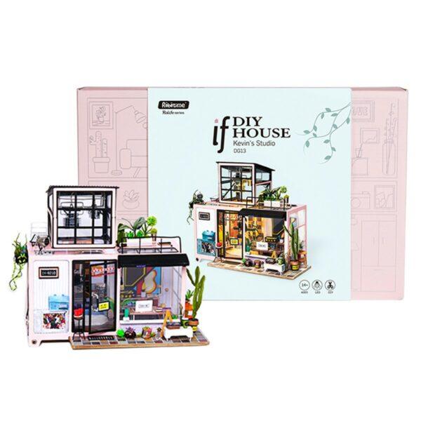 kevin s studio robotime diy miniature dollhouse kit 13
