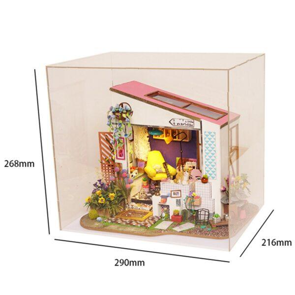 lily s porch robotime diy miniature dollhouse kit 10