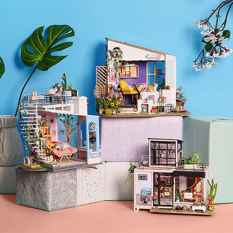 lily s porch robotime diy miniature dollhouse kit 3