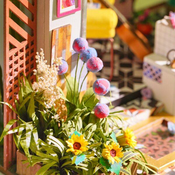 lily s porch robotime diy miniature dollhouse kit 5