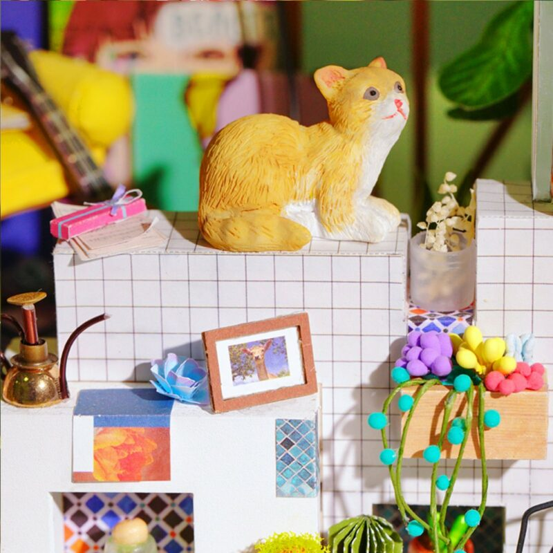lily s porch robotime diy miniature dollhouse kit 6