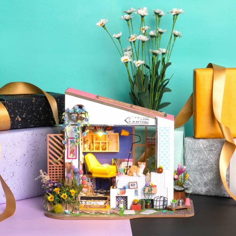 lily s porch robotime diy miniature dollhouse kit