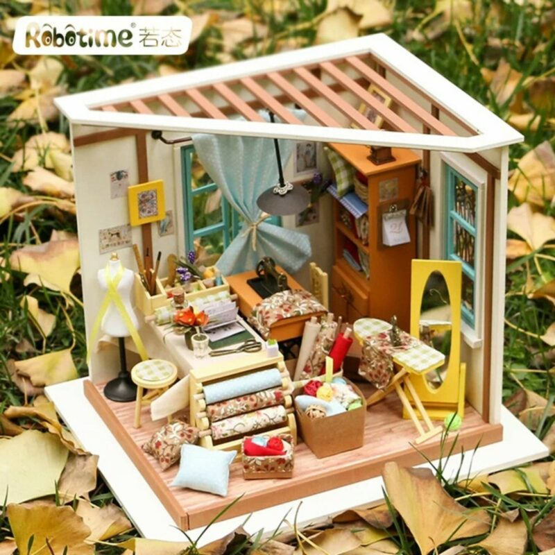 lisa s tailor robotime diy miniature dollhouse kit 2
