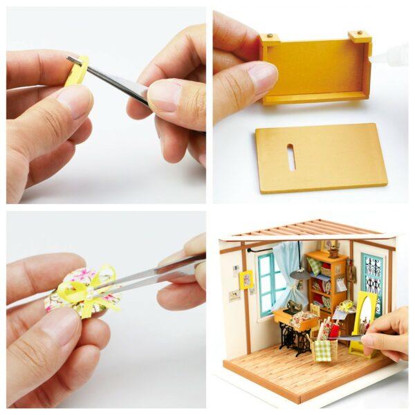 lisa s tailor robotime diy miniature dollhouse kit 5