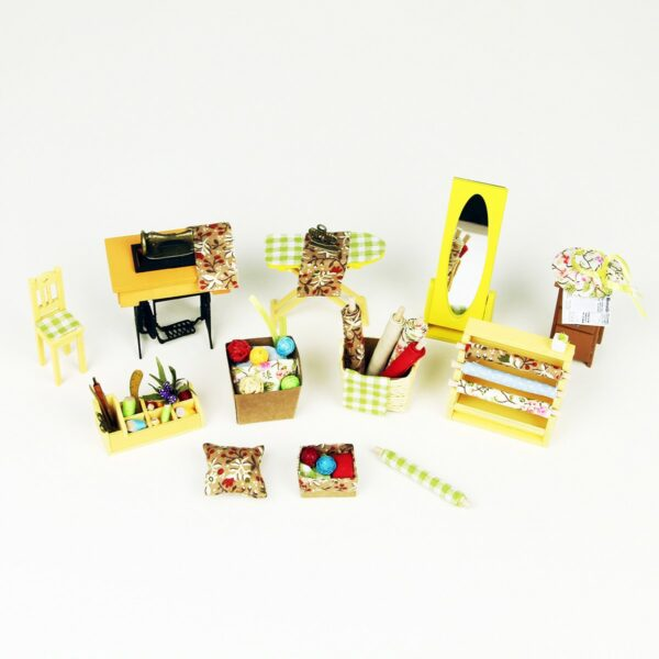 lisa s tailor robotime diy miniature dollhouse kit 6