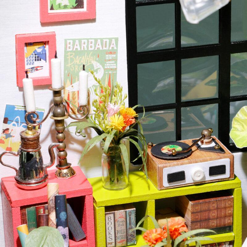locus s sitting room robotime diy miniature dollhouse kit 2