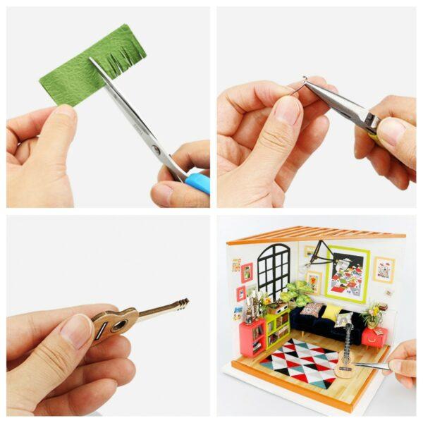 locus s sitting room robotime diy miniature dollhouse kit 4