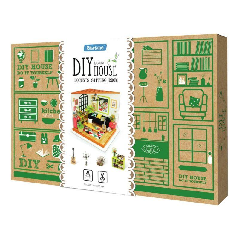 locus s sitting room robotime diy miniature dollhouse kit 8