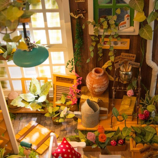 miller s garden robotime diy house kit 10