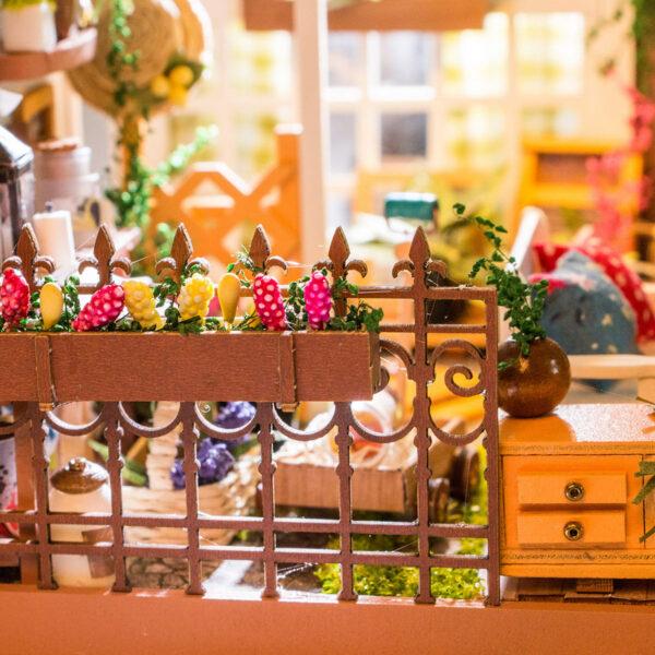 miller s garden robotime diy house kit 2