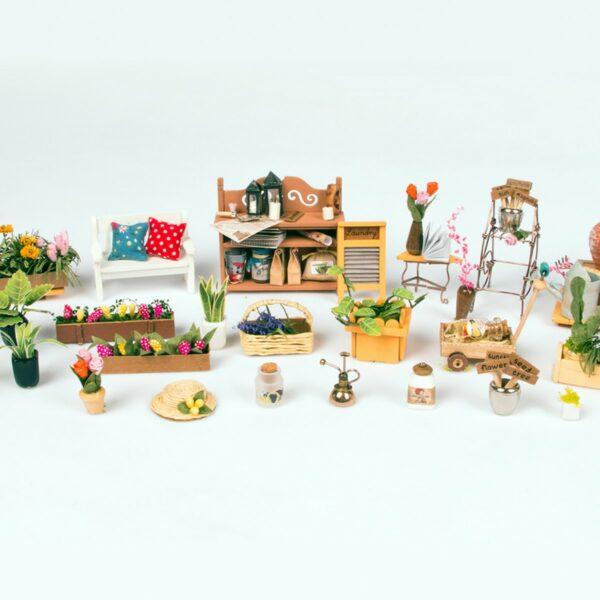 miller s garden robotime diy house kit 3 1