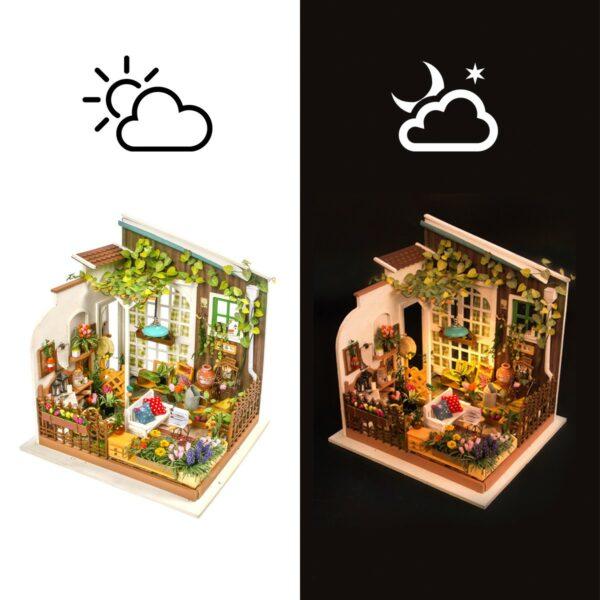 miller s garden robotime diy house kit 5