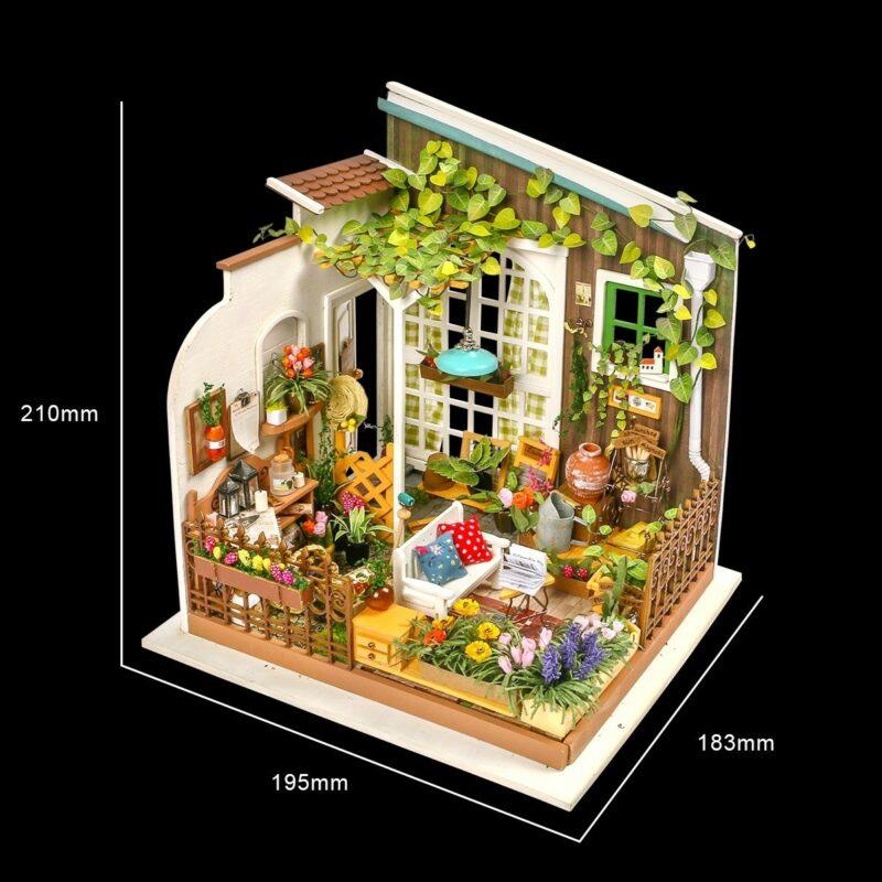 miller s garden robotime diy house kit 6