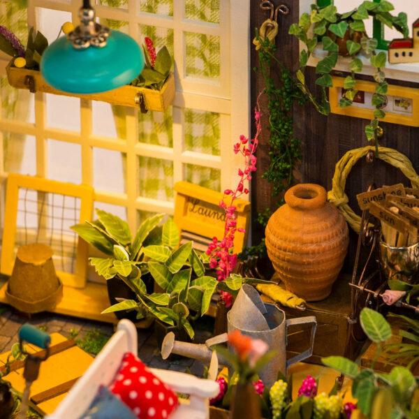 miller s garden robotime diy house kit 7