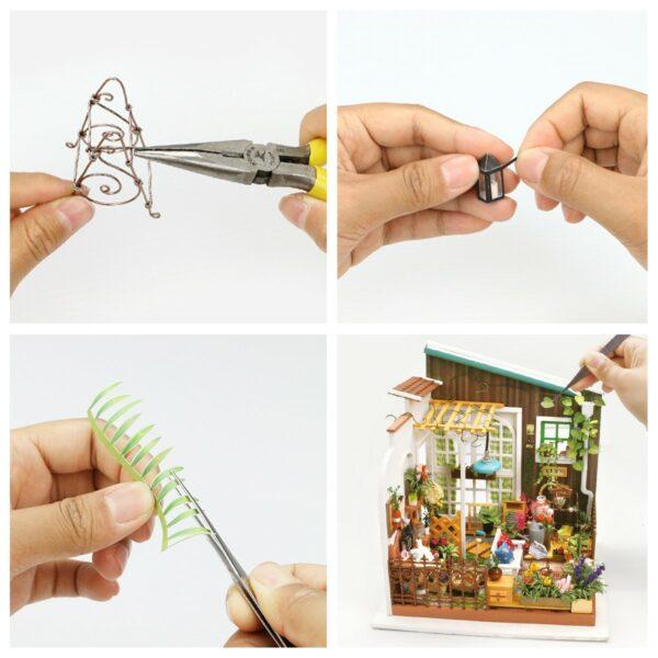 miller s garden robotime diy house kit 9