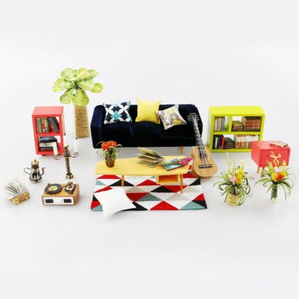 simon s coffee robotime diy miniature dollhouse kit 10